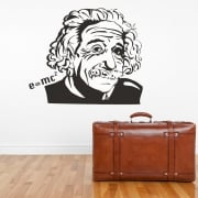 Albert Einstein E=mc2 Wall Sticker