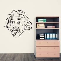 Albert Einstein Wall Sticker