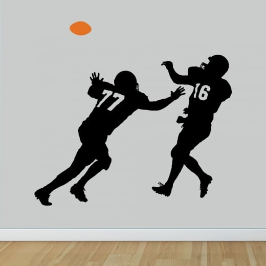 Wall Chimp American Football Wall Sticker