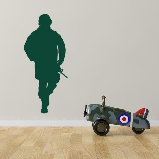 Army Soldier Wall Sticker