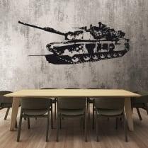 Army Tank Wall Sticker