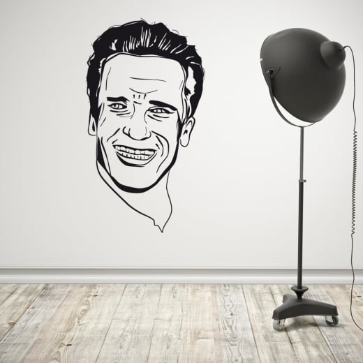 Wall Chimp Arnold Schwarzenegger Wall Sticker