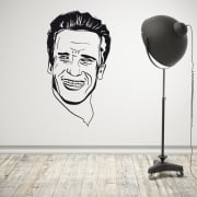 Arnold Schwarzenegger Wall Sticker