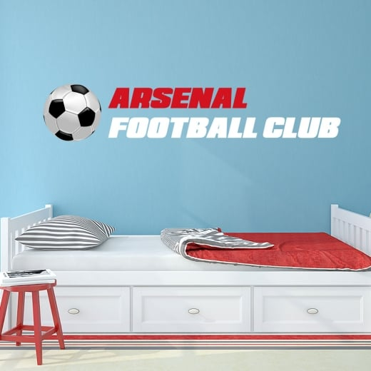 Wall Chimp Arsenal Football Club Printed Wall Sticker