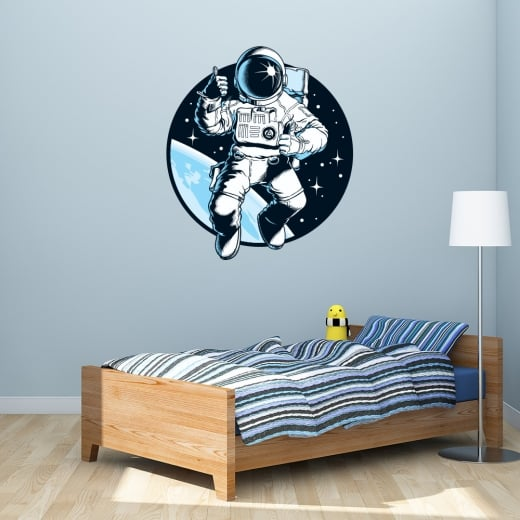 Wall Chimp Astronaut Printed Wall Sticker
