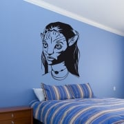 Avatar Warrior Wall Sticker