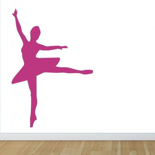 Wall Chimp Ballet Dancer Wall Sticker