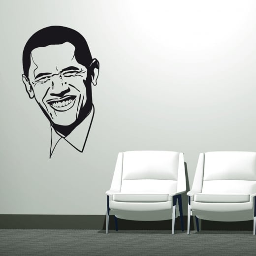 Wall Chimp Barack Obama Wall Sticker