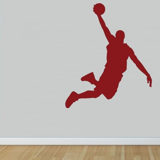 Wall Chimp Basketball Player Wall Sticker