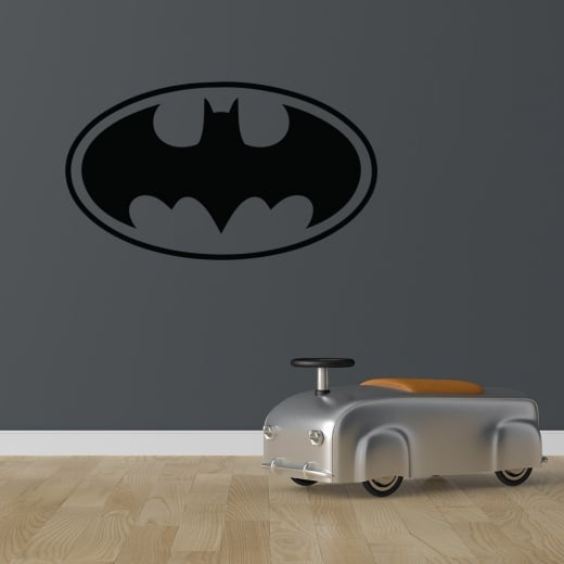 Wall Chimp Batman Badge Wall Sticker