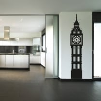 Big Ben Clock Wall Sticker
