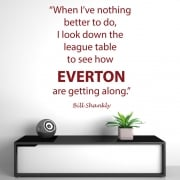 Bill Shankly Football Quote Wall Sticker