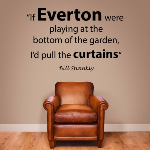 Wall Chimp Bill Shankly Football Quote Wall Sticker