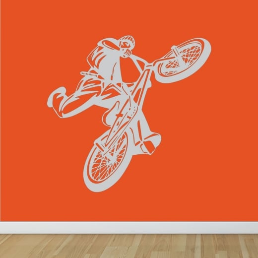 Wall Chimp BMX Rider Wall Sticker
