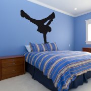 Break Dancer Pose Wall Sticker