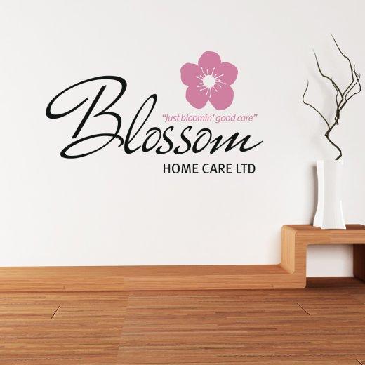 Wall Chimp Brian Boxx Blossom Home Care Custom Logo Wall Sticker WC789QT