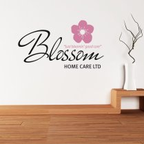 Brian Boxx Blossom Home Care Custom Logo Wall Sticker WC789QT
