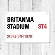 Britannia Stadium, Stoke-On-Trent Metal Sign
