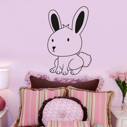 Wall Chimp Bunny Rabbit Wall Sticker