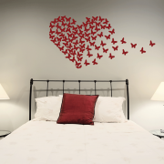 Butterfly Heart Wall Sticker