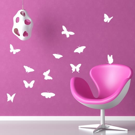 Wall Chimp Butterfly Wall Sticker Pack