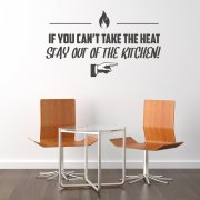 Can't Stand The Heat Kitchen Wall Sticker