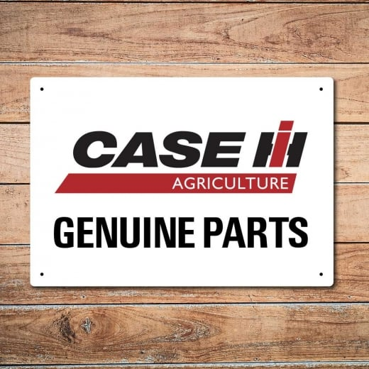 Wall Chimp Case Genuine Parts Metal Sign