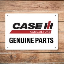 Case Genuine Parts Metal Sign