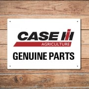 Case Genuine Parts Metal Sign