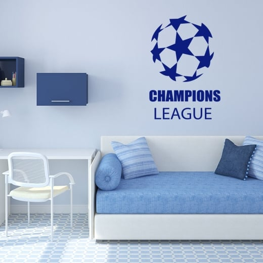 Wall Chimp Champions League Wall Sticker