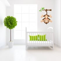 Cheeky Monkey Wall Sticker