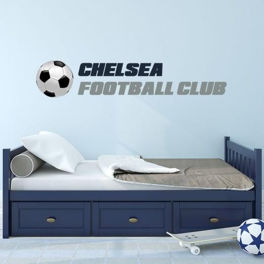 Wall Chimp Chelsea Football Club Printed Wall Sticker