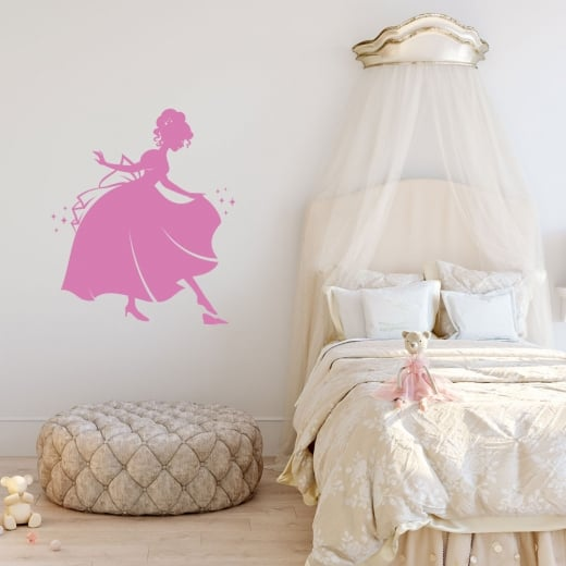 Wall Chimp Cinderella Wall Sticker