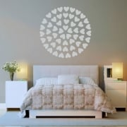 Circle Of Hearts Wall Sticker