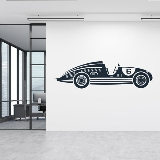 Wall Chimp Classic Race Car 2 Wall Sticker