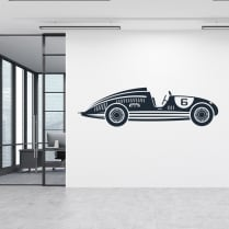Classic Race Car 2 Wall Sticker