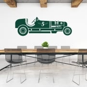 Classic Race Car Wall Sticker