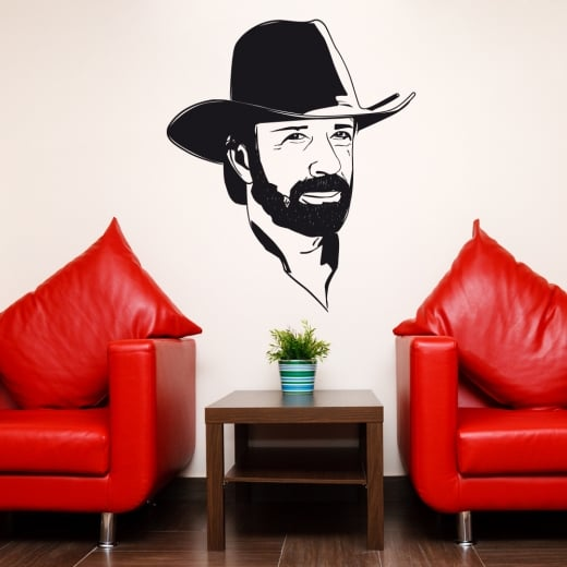 Wall Chimp Clint Eastwood Wall Sticker