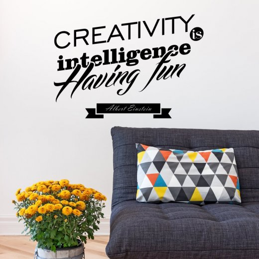 Wall Chimp Creativity Having Fun Wall Sticker Quote