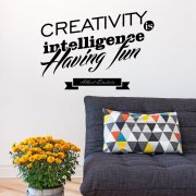 Creativity Having Fun Wall Sticker Quote