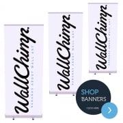 Custom Banner Stand Multi-buy Pack (3)