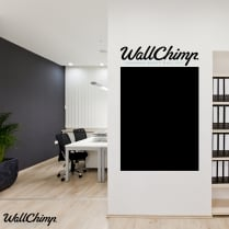 Custom Blackboard Wall Sticker - Large