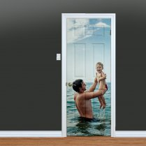 Custom Printed Family Door
