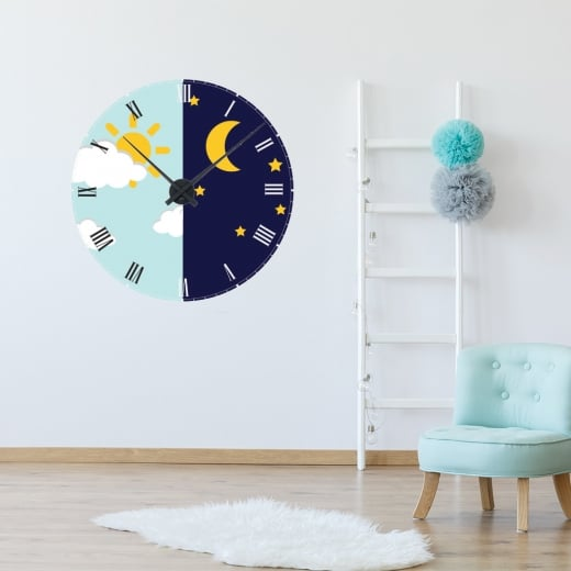 Wall Chimp Day & Night Wall Clock