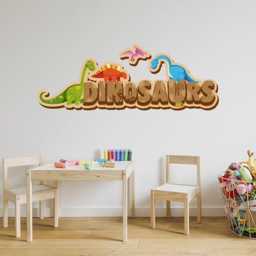 Wall Chimp Dinosaurs Printed Wall Stickers