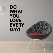 Do What You Love Wall Sticker