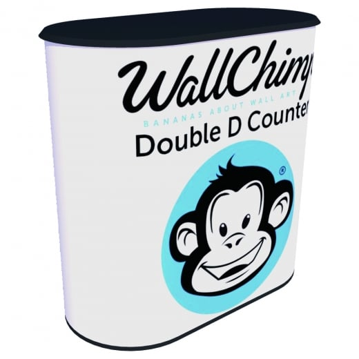 Wall Chimp Double D Counter