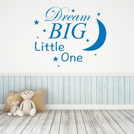 Wall Chimp Dream Big Little One Wall Sticker