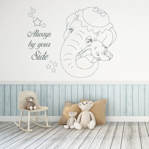 Wall Chimp Dumbo Always By Your Side Wall Sticker
