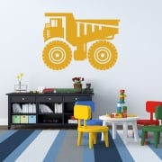 Dumper Truck Wall Sticker